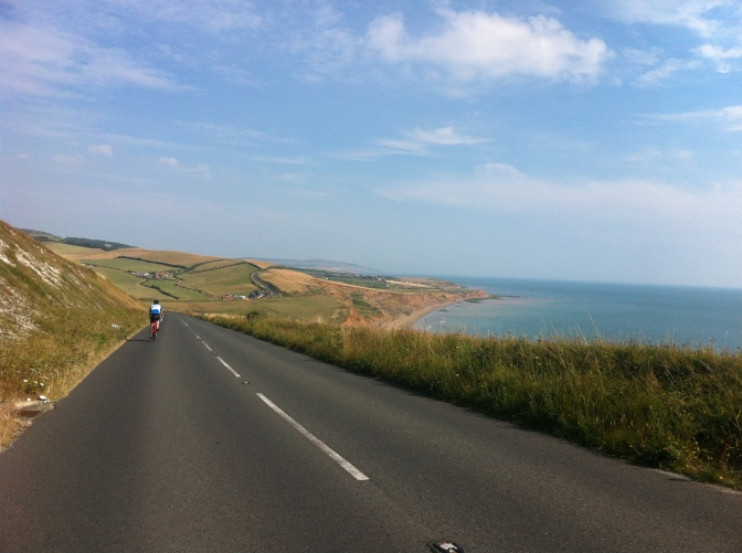 Riding around the Isle Of Wight
