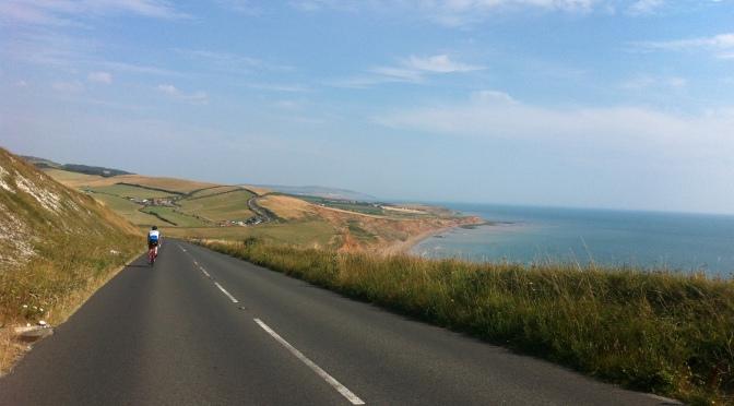Riding around the Isle Of Wight