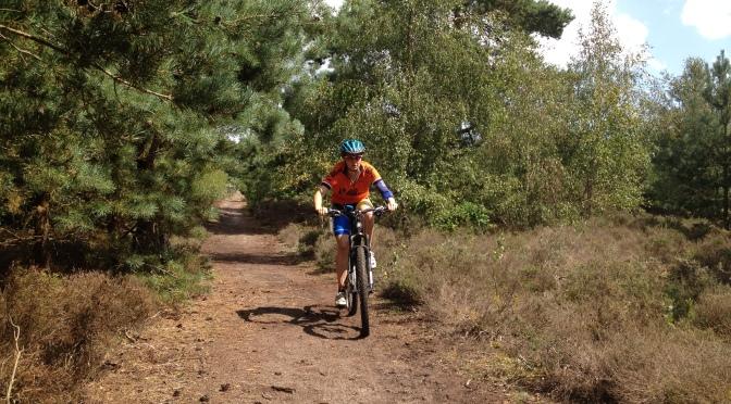 Training ride around Dunwich Forest