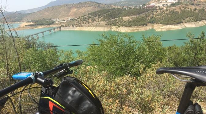 Dusty trails in Spain